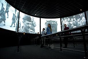 Arromanches 360 circular cinema