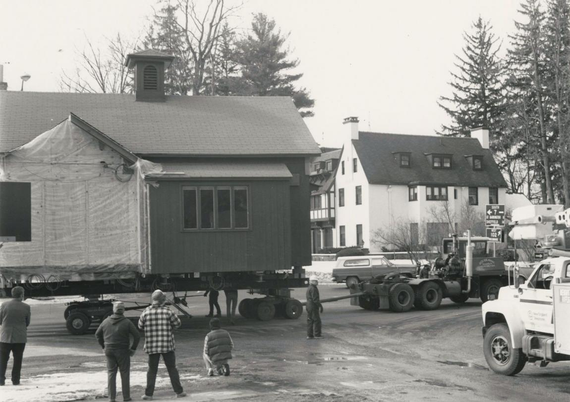 Norman Rockwell's Stockbridge studio move