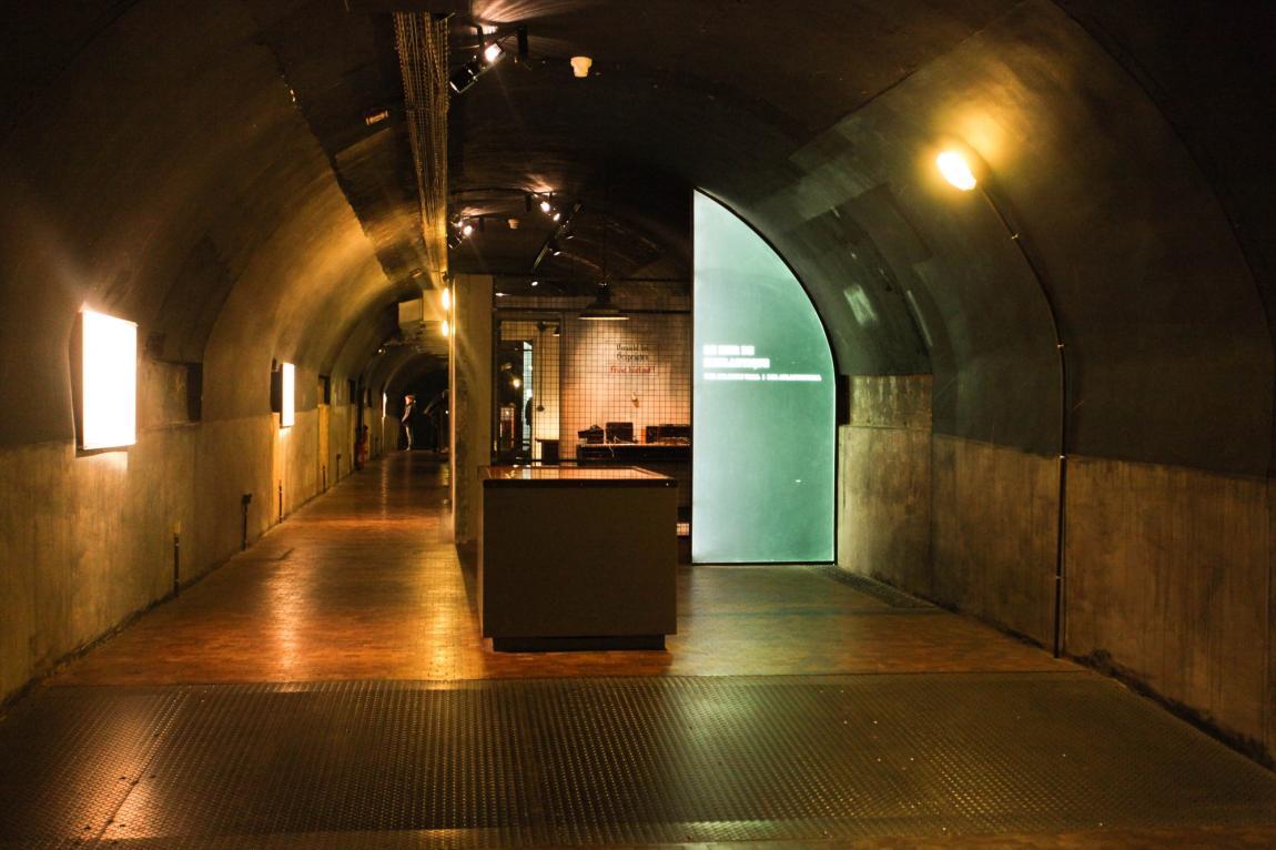 Le bunker souterrain du général Richter